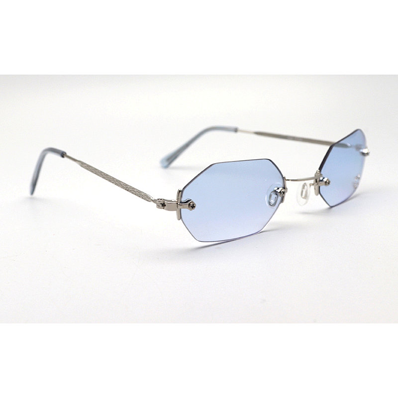 DTBG690 GEO Frameless Sunglasses