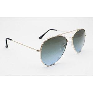 DTAV02 Aviator double bridge round shape sunglasses