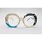 DTYN022 Round shape lamination fashion acetate optical frame glasses