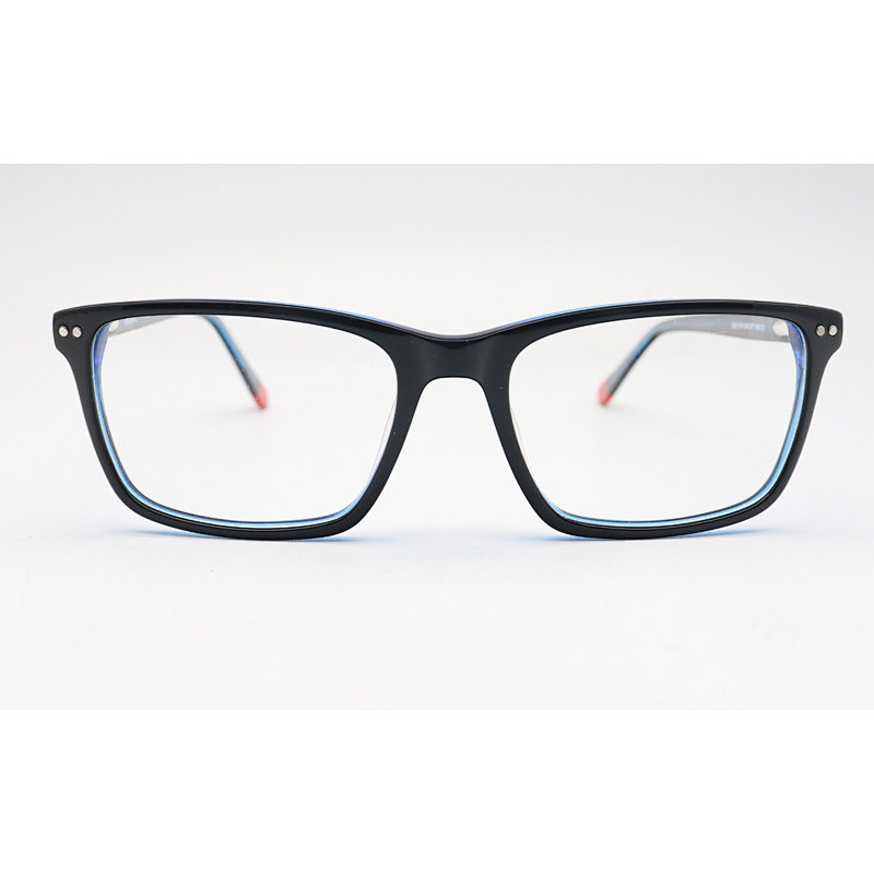 SSO074 Square shape acetate optical frame glasses