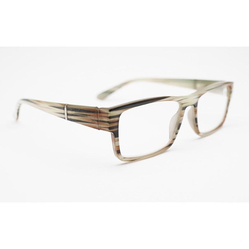 DTYH1128 Retro Stripe Pattern Reading Glasses