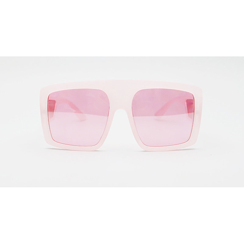 DTL6718A Flat top oversize square shape fashion sunglasses