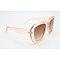 DTL1017 Square shape thick fashion sunglasses