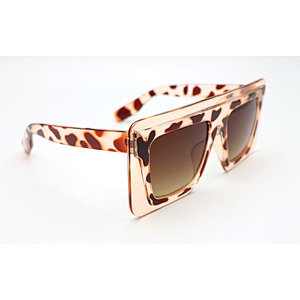 DTX9037 Flat top oversize square shape thick fashion sunglasses