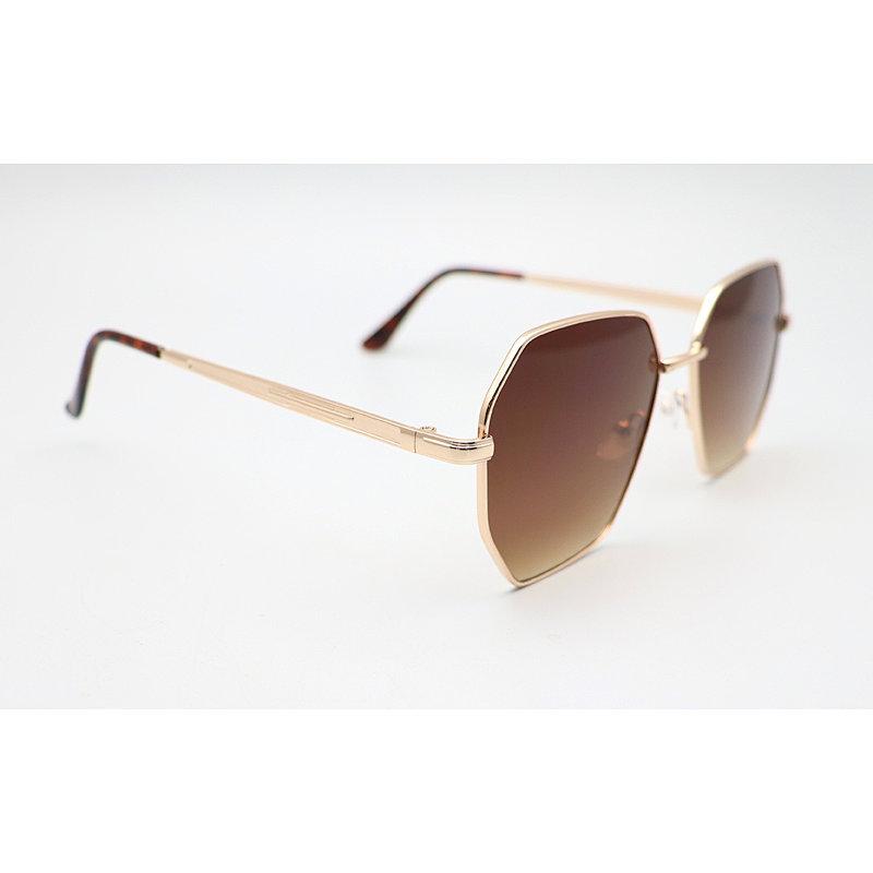 DTFJ1621 GEO shape slim sunglasses