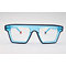 DTYN035 Square shape chunky acetate optical frame glasses