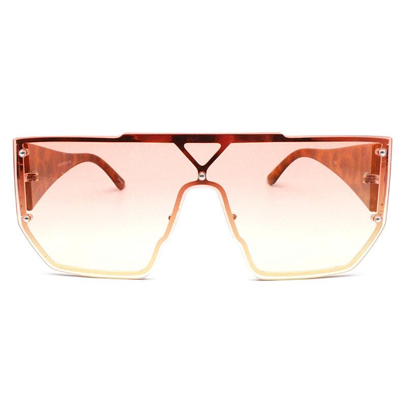 DTBG692 Flattopoversize shield sunglasses
