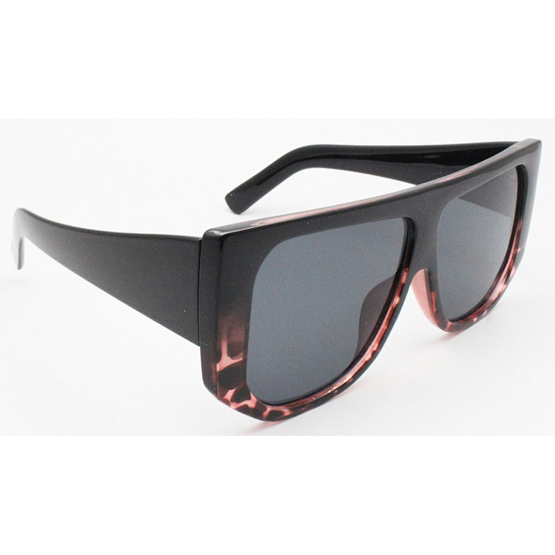 DTL1082 Flat top oversize thick fashion sunglasses