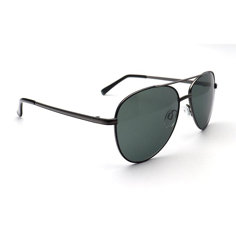 DTDM159 Aviator double bridge metal sunglasses